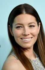 JESSICA BIEL at Tiffany & Co. Blue Book Gala in New York 04/15/2016
