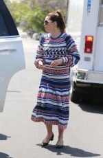 JESSICA BIEL Leaves Au Fudge in West Hollywood 04/27/2016