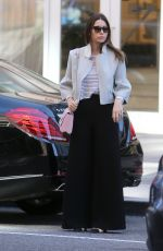 JESSICA BIEL Out and About in New York 04/15/2016
