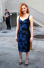 JESSICA CHASTAIN Arrives and Leaves