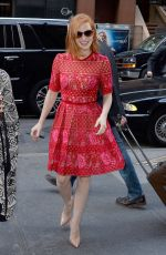 JESSICA CHASTAIN Arrives at