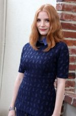 JESSICA CHASTAIN at Foreign Press Association Office Photocall in West Hollywood 04/11/2016
