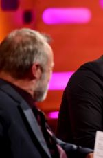 JESSICA CHASTAIN at The Graham Norton Show in London 03/31/2016