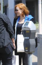 JESSICA CHASTAIN Out in Hollywood 04/21/2016