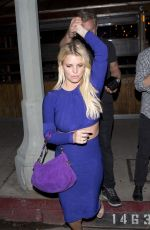 JESSICA SIMPSON Leaves Sherman Bar in Sherman Oaks 04/10/2016