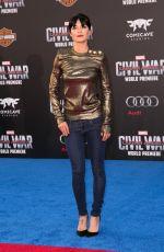 JESSICA SZOHR at Captain America: Civil War Premiere in Los Angeles 04/12/2016