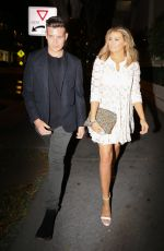 JESSICA WRIGHT at Madeo Restaurant in Los Angeles 03/22/2016