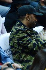 JHENE AIKO at LA Clippers vs Boston Celtics Games at Staples Center 03/28/2016