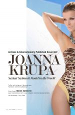JOANNA KRUPA in Most Fitness Magazin, April 2016 Issue
