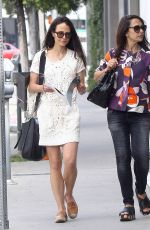 JORDANA BREWSTER Out in Los Angeles 04/06/2016