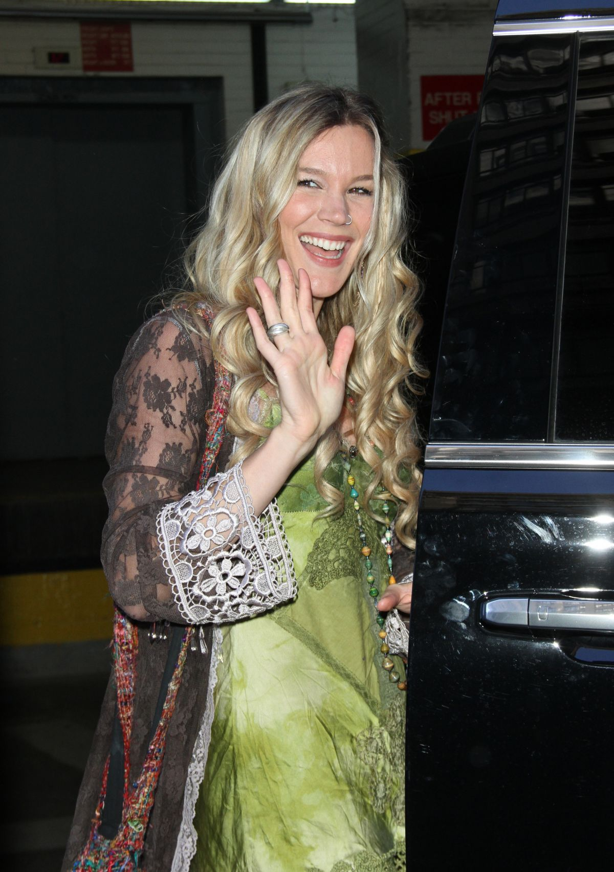JOSS STONE at AOL Studio in New York 03/17/2016