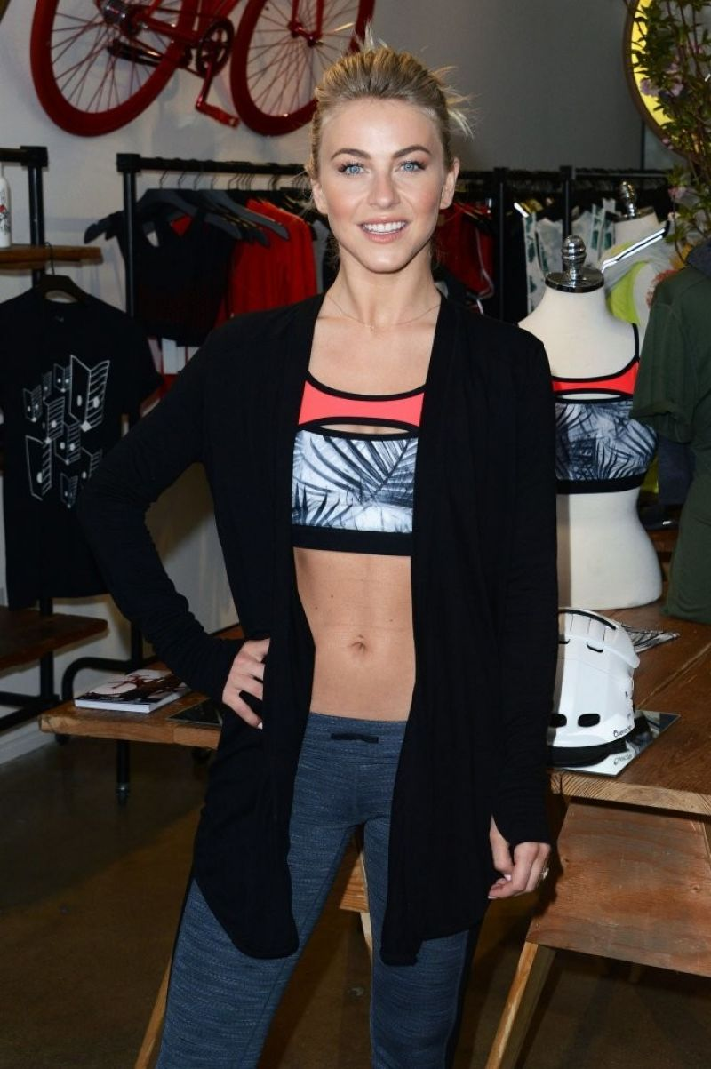 JULIANNE HOUGH at West Coast Debut of Her New Clothing Collection in Los Angeles 04/04/2016