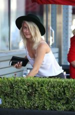 JULIANNE HOUGH Out Shopping in West Hollywood 04/17/2016