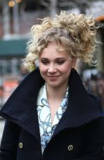 JUNO TEMPLE Out and About in New York 04/07/2016