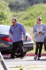 KALEY CUOCO Arrives at a Studio in Los Angeles 03/30/2016