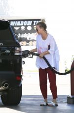 KALEY CUOCO at a Gas Station in Los Angeles 04/04/2016