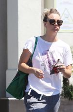 KALEY CUOCO Out Shopping in Los Angeles 04/18/2016