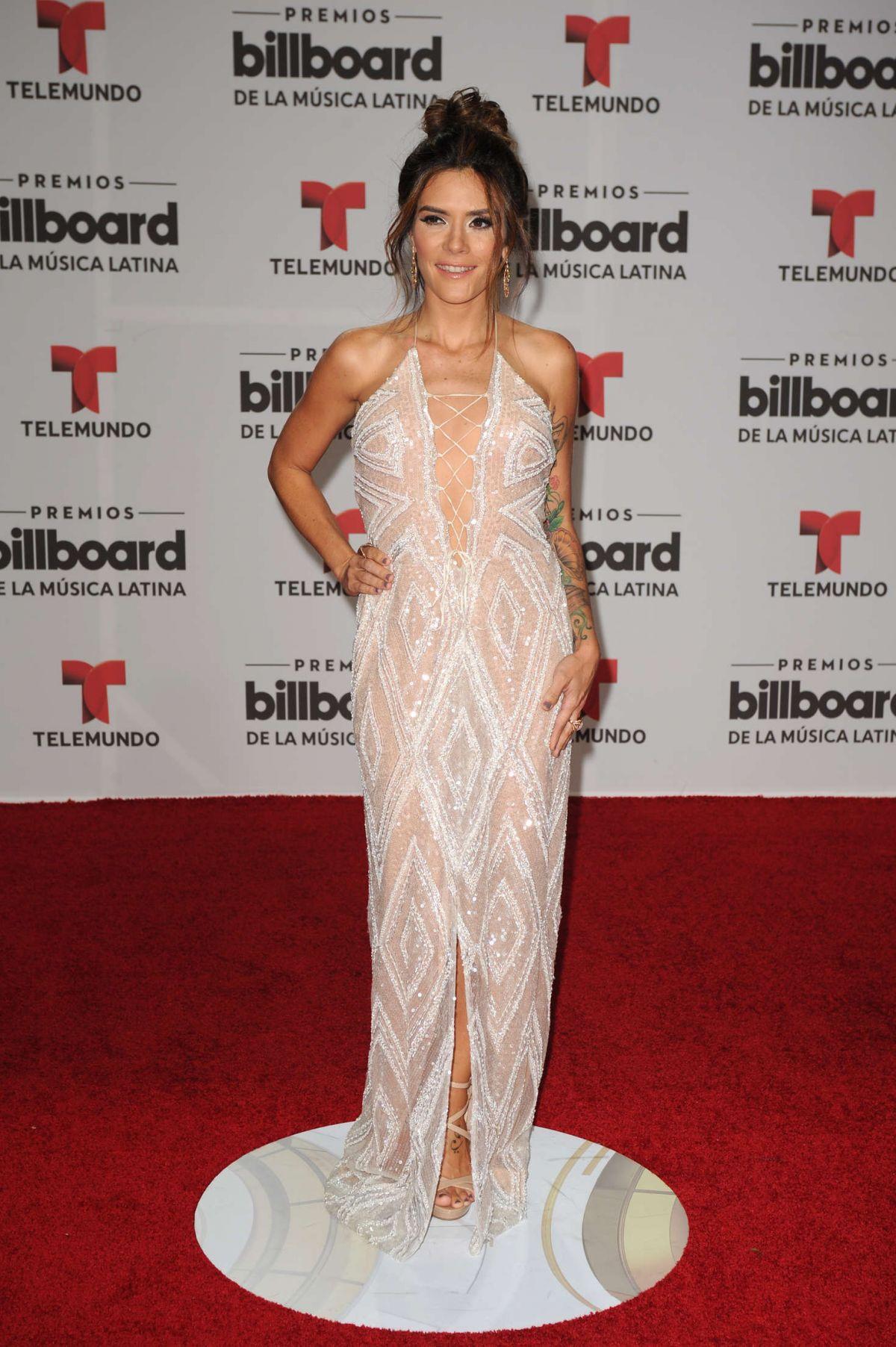 KANY GARCIA at Billboard Latin Music Awards in Miami 04/28/2016