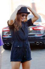 KARINA SMIRNOFF Arrives at DWTS Rehersal in Hollywood 04/24/2016