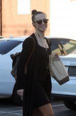 KARINA SMIRNOFF Leaves DWTS Rehersal in Hollywood 04/17/2016