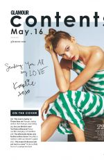 KARLIE KLOSS in Glamour Magaine, UK May 2016 Issue