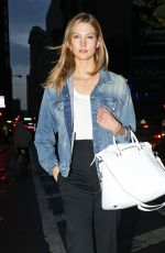 KARLIE KLOSS night Out in New York 04/11/2016