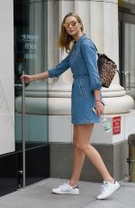 KARLIE KLOSS Out and About in New York 04/22/2016