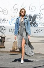 KARLIE KLOSS Out in New York 04/20/2016
