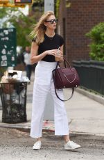 KARLIE KLOSS Out in New York 04/26/2016