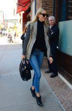KAROLINA KURKOVA Out in New York 04/14/2016