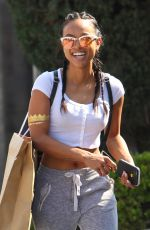 KARREUCHE TRAN Out Shopping in West Hollywood 04/13/2016