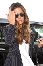 KATE BECKINSALE Arrives at Los Angeles international Airport 04/21/2016