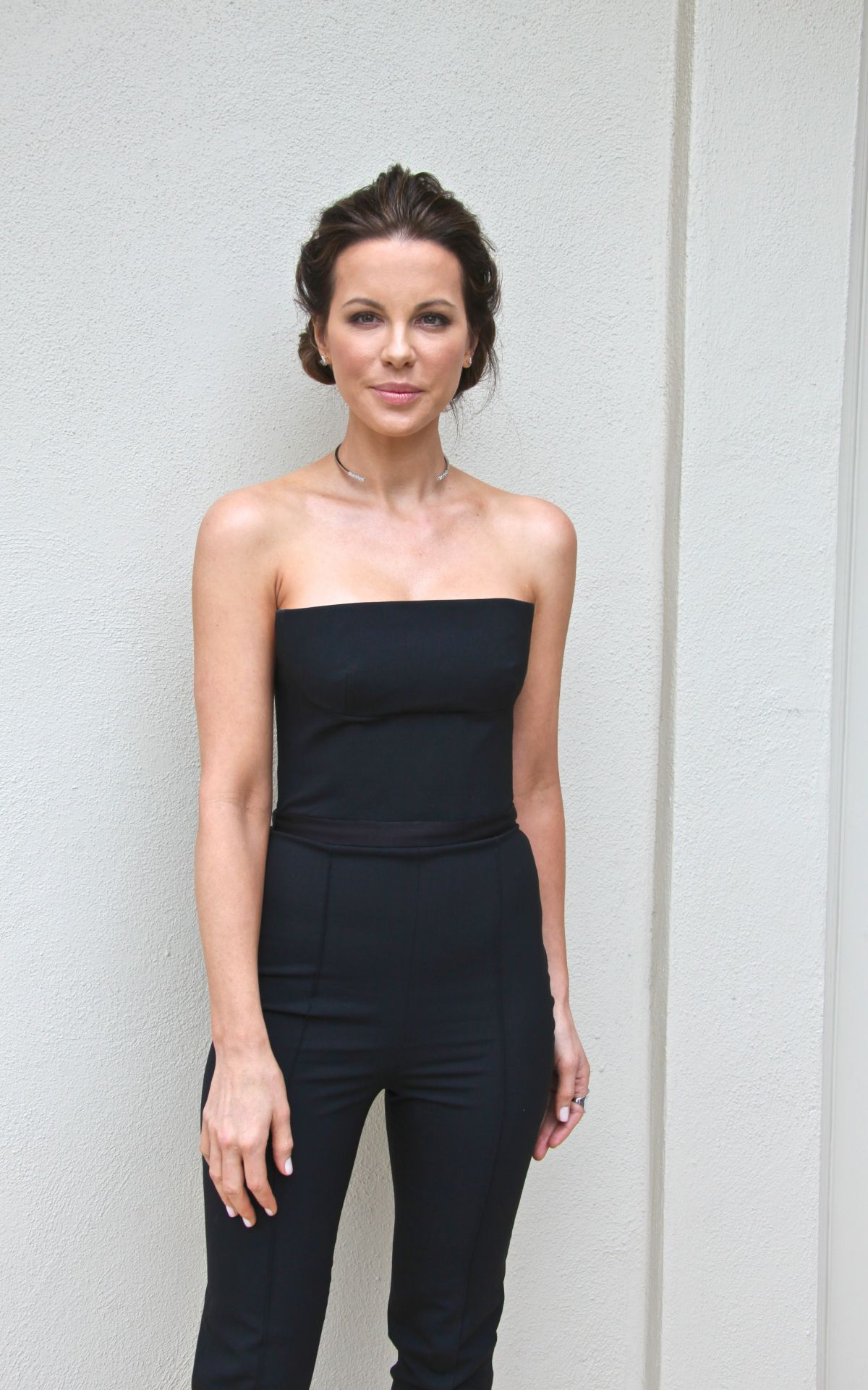 KATE BECKINSALE at Love and Friendship Press Conference in Beverly Hills 04/26/2016
