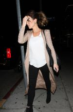 KATE BECKINSALE Leaves Nice Guy in West Hollywood 04/16/2016