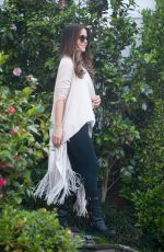 KATE BECKINSALE Out and About in Los Angeles 04/28/2016