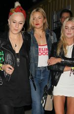 KATE HUDSON at Guns n