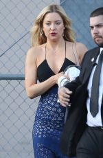 KATE HUDSON at Jimmy Kimmel Live in Hollywood 04/26/2016