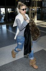 KATE HUDSON at LAX Airport in Los Angeles 04/12/2016