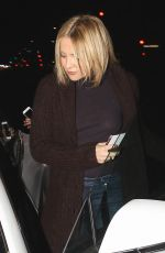 KATE HUDSON Out for Dinner at Carlitos Gardel Restaurant in West Hollywood 03/31/2016