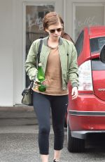 KATE MARA Leaves Gym in Beverly Hills 04/08/2016