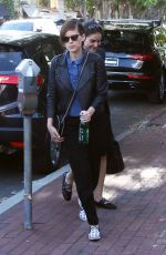 KATE MARA Out and About in Los Angeles 03/31/2016