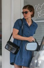 KATE MARA Out and About in Los Angeles 04/06/2016