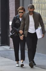 KATE MARA Out and About in New York 04/15/2016