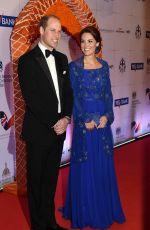 KATE MIDDLETON at Gala Bollywood Dinner at Taj Palace Hotel in Mumbai 04/10/2016