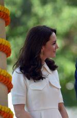 KATE MIDDLETON at Gandhi Smriti in New Delhi 04/11/2016