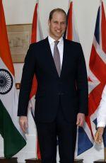 KATE MIDDLETON Visited The Prime Minster in Dehli 04/12/2016