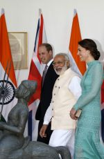 KATE MIDDLETON Visited The Prime Minster in Dehli 04/12/2016