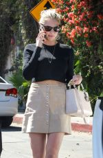 KATE UPTON Arroves at Chateau Marmont in West Hollywood 04/20/2016