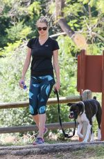 KATE UPTON Walks Her Dog Out in Hollywood 04/18/2016