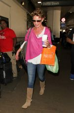 KATHERINE HEIGL at Los Angeles International Airport 04/13/2016